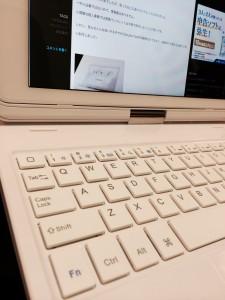 洗礼されたキーボード