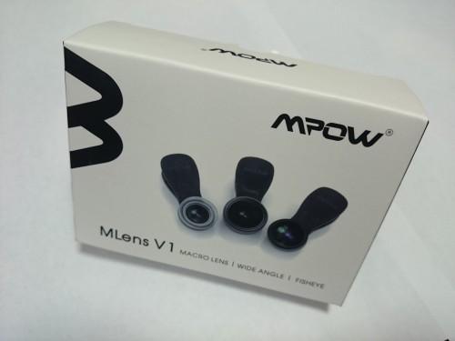 Mpow Clip-On レンズ 3点セット (魚眼、マクロ、広角レンズ) スマートフォン対応(改良版)