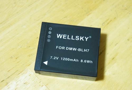 WELLSKY DMW-BLH7 互換バッテリー