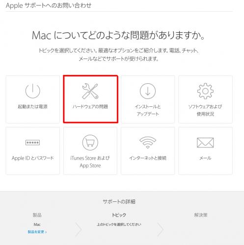 Macについてどのような問題がありますか?
