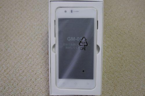 GM-01Aパッケージオープン