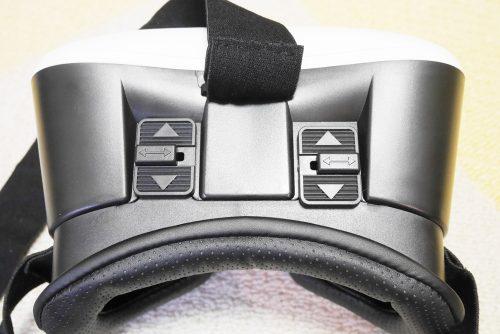 焦点距離・視界距離の調整可能