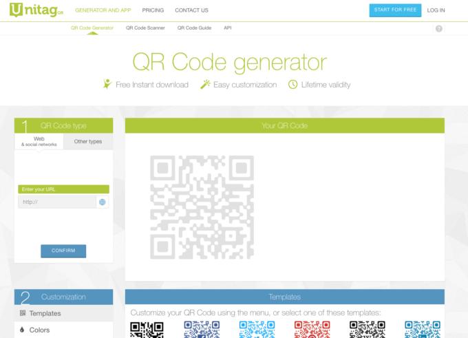 Design QR Code generator